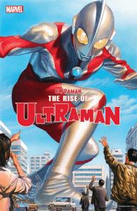 divulgada a capa da nova HQ do Ultraman desenhada por Alex Ross