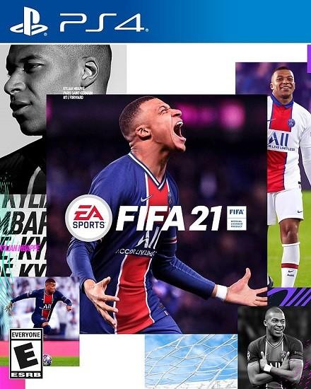 Capa do FIFA 21 - Kylian Mbappé - PS4