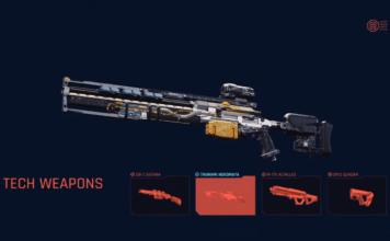 Trailer novo do Cyberpunk 2077 mostra o arsenal de armas do jogo