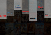 Netflix, Prime Video, Disney+, Globoplay, HBO GO, Claro Video, TeleCine Play