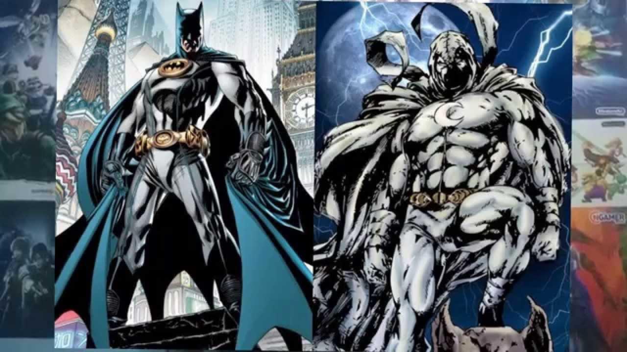 Batman DC- Cavaleiro da Lua Marvel