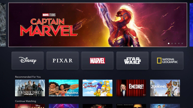 Serviços de streaming Disney Plus Divulgação