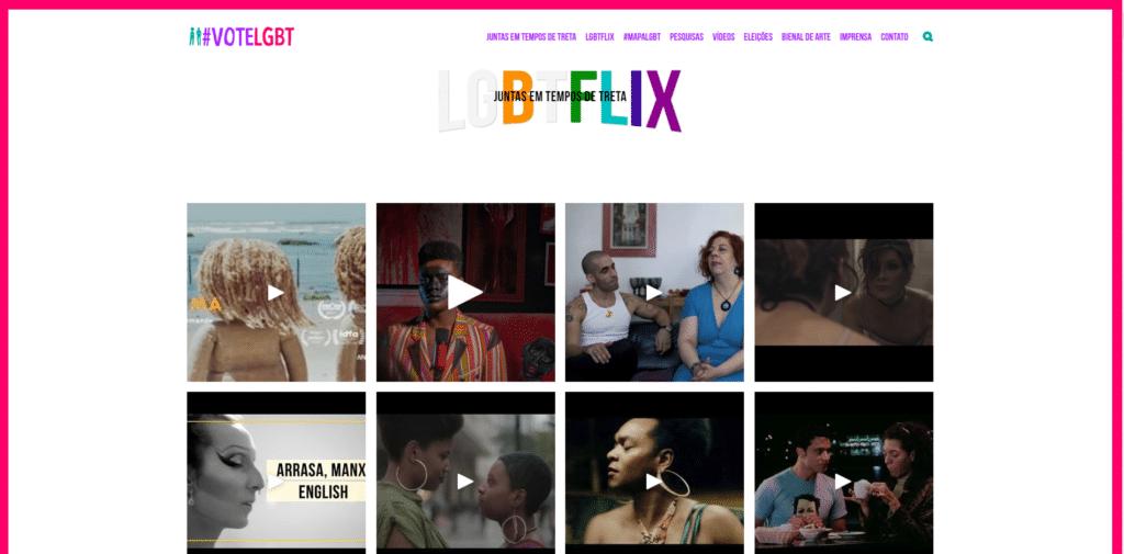 LGBTFlix Divulgação