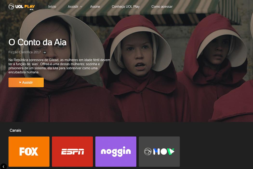 UOL Play Divulgação Serviços de streaming