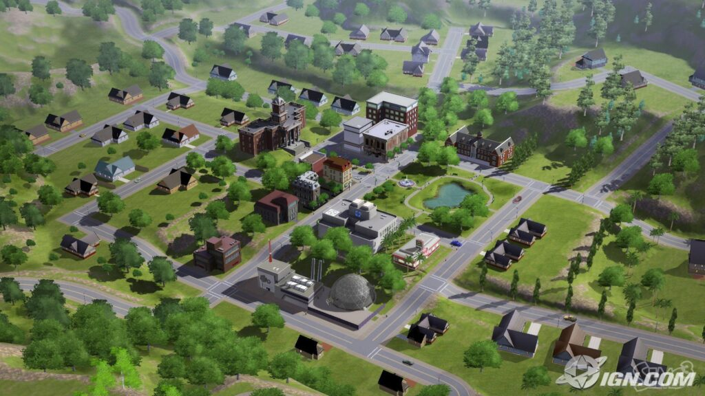 Sunset Valley - The Sims 3