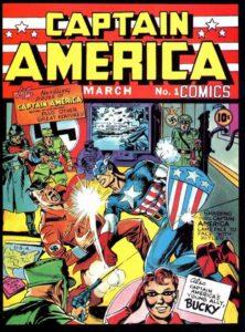 Captain America #01 (1940)