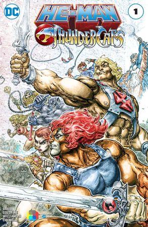 He-Man e Thundercats WildStorm