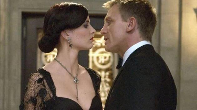 Vésper Lynd e James Bond