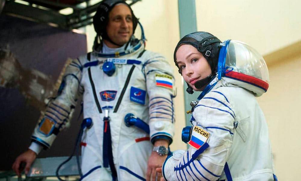 primeiro longa-metragem filmado no espaço